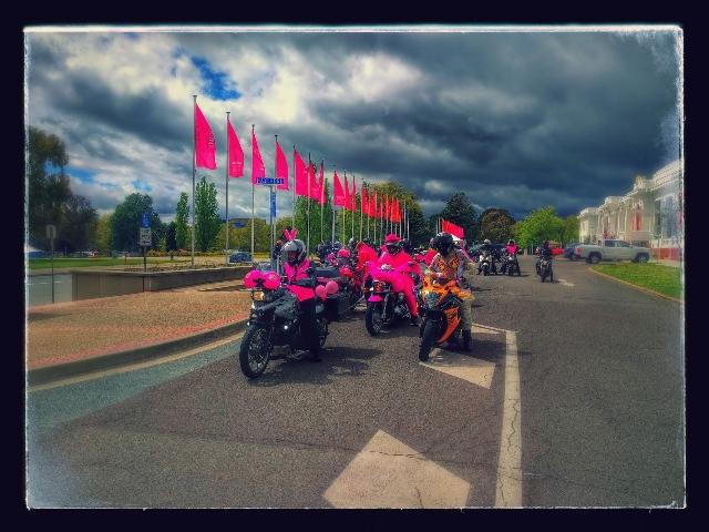 rider departing