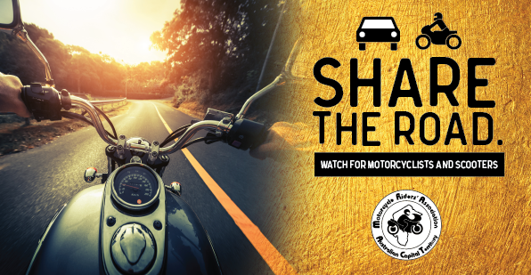 Motorcycle Awareness Week - Share the Road
