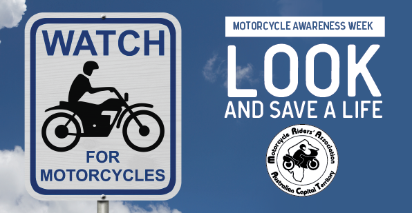 Motorcycle Awareness Week - Look and Save a Life