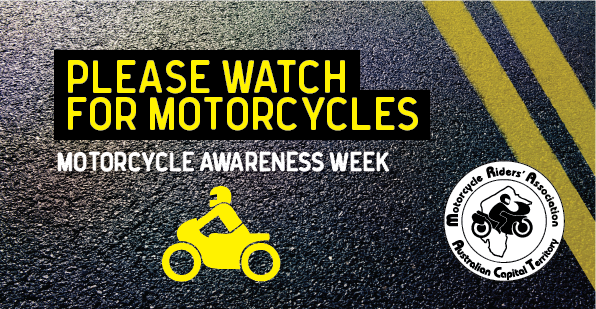 Motorcycle Awareness Week - Please Watch for Motorcycles
